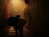 ドキドキ階段露出、階段を下りてご奉仕です。