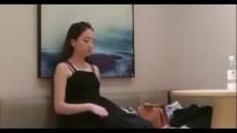 【無修正】--海外素人動画--中国S級美人女優が大物プロデューサーとの枕接待の実態!