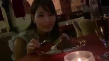 大企業勤務の美人OLとディナーを楽しんだ後にハメ撮り2発中出し。前編