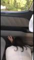 車内で巨根に奥まで突かれてイキまくるデカ尻主婦