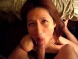 性的サービスを頑なに拒んでいた高級クラブ美人ママがついにジャブってくれたので濃厚精子を美しい顔にぶっかけた。